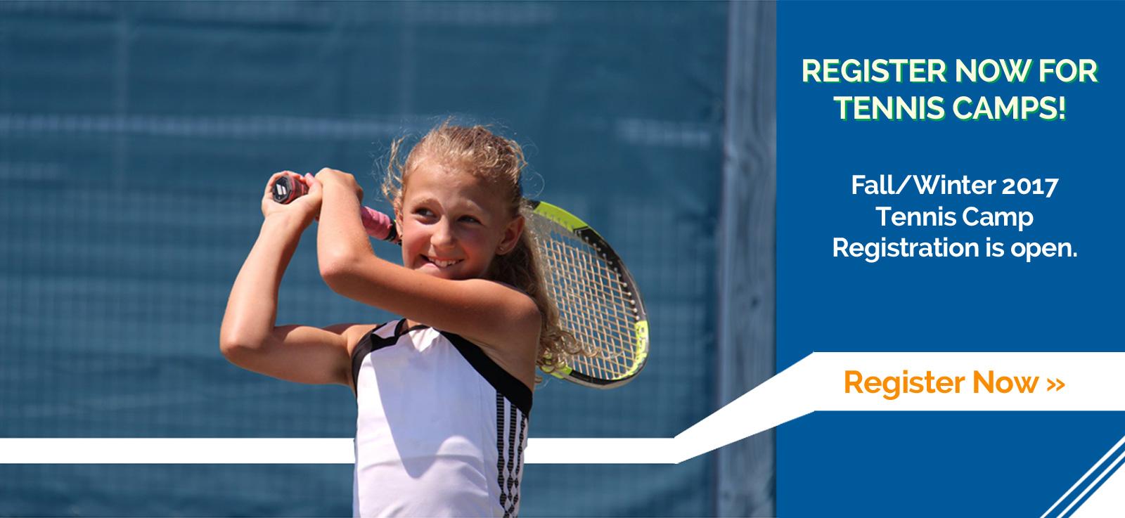 register for tennis camp