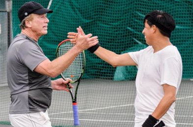 tennis promotions small